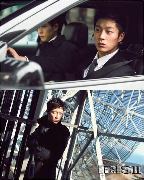 Still cuts of B2ST's Doojoon on the set of 'IRIS 2′ released