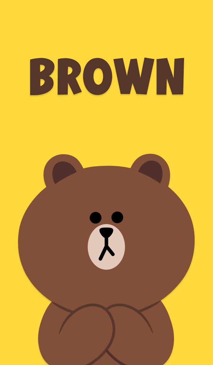 Line Wallp Buscar Con Google Beruang Coklat Wallpaper Lucu Kartun