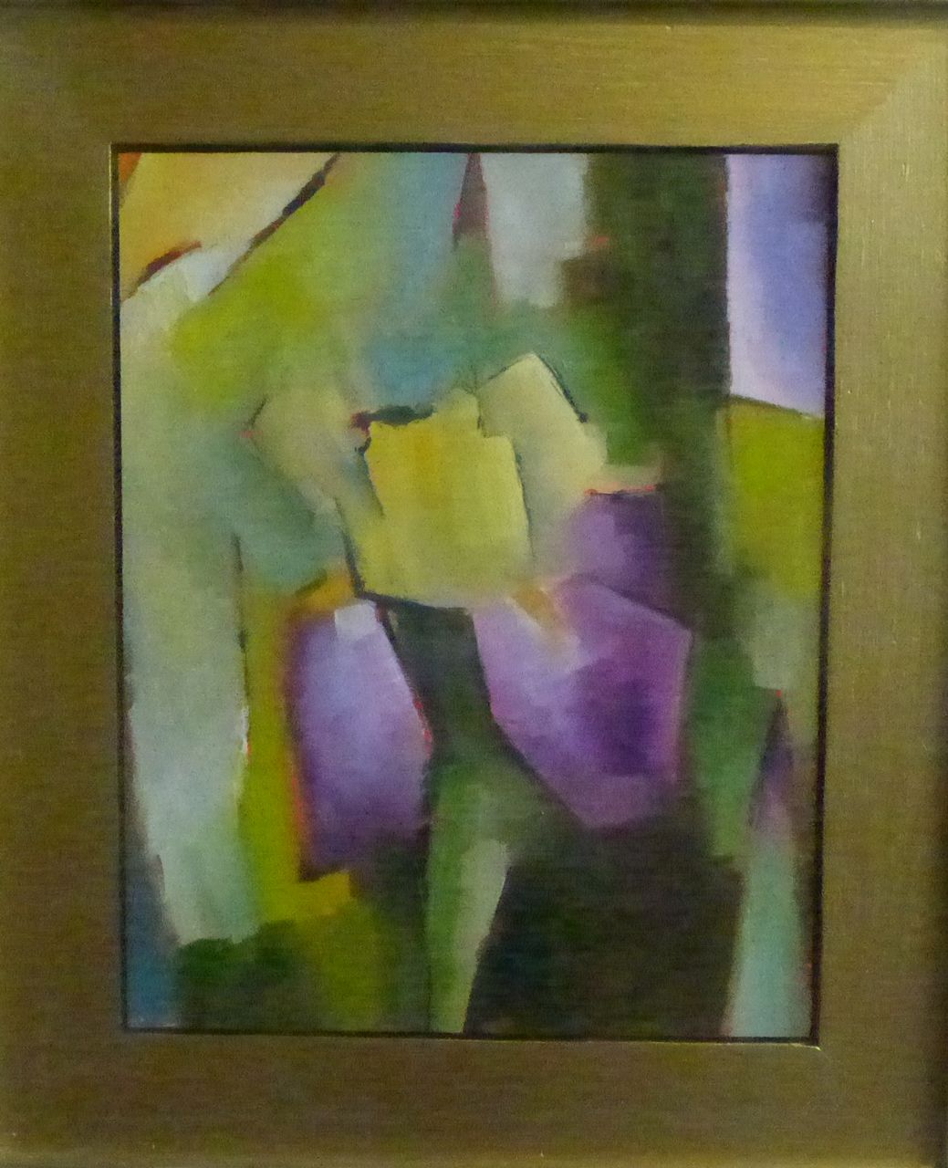 Abstract Painting Of Girl Dancing 147 Impressionist Iris Art Abstracts 2 Girl Dancing