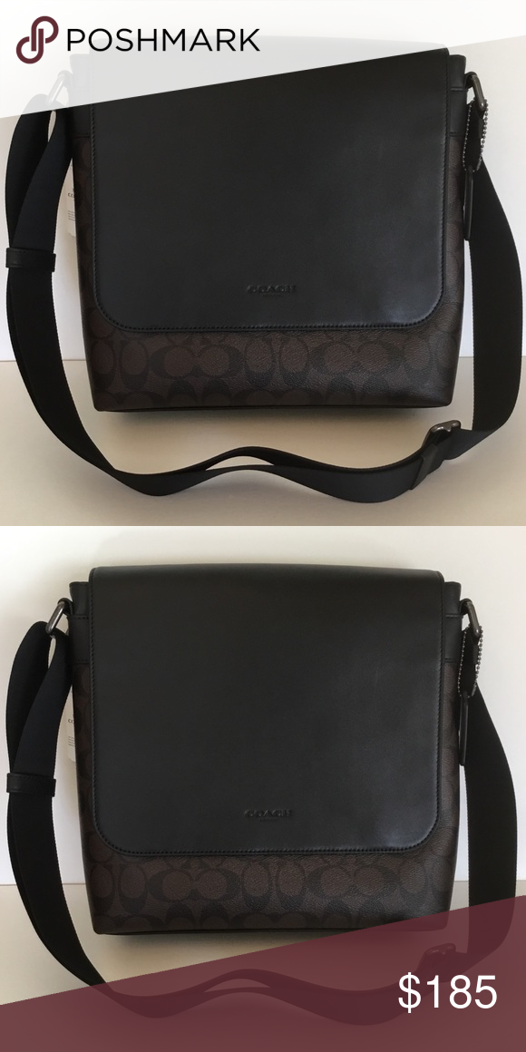 c1a2bf5980 🌻Coach Men s Messenger Bag In Signature NWT. ✅ The bag is brand new and