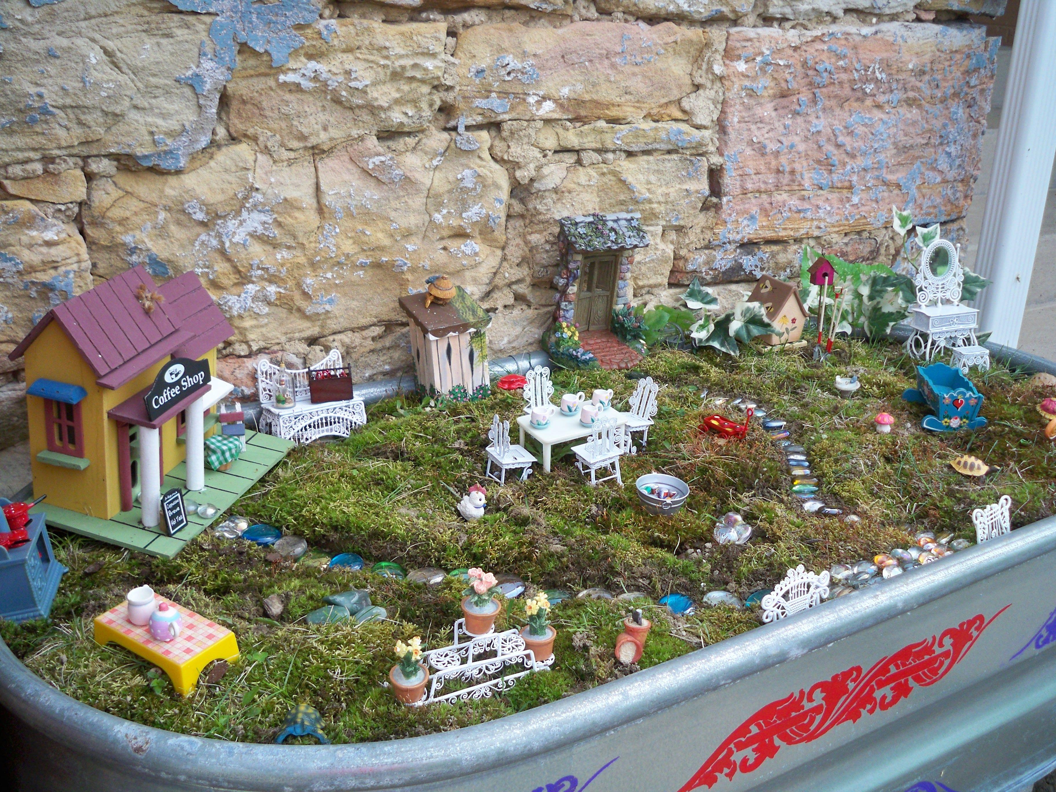 fairy garden in PA