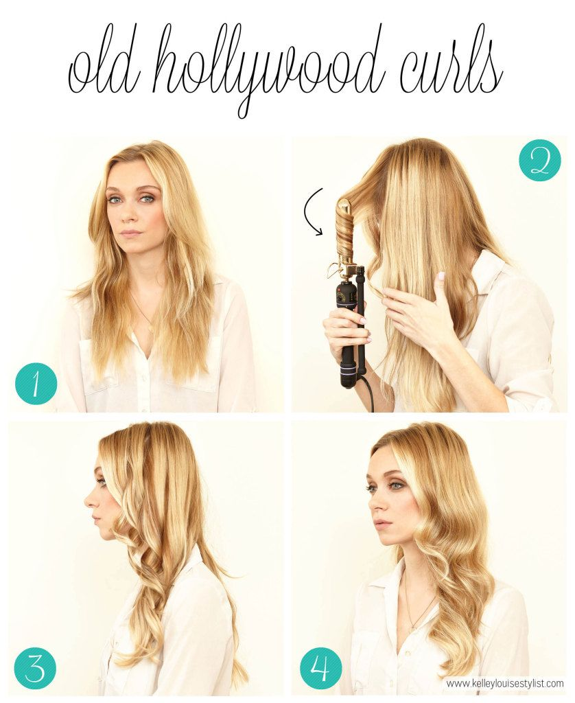 The Easiest Way To Curl Your Hair Kelley Louise Stylist How To Curl Your Hair Medium Length Hair Styles Medium Hair Styles