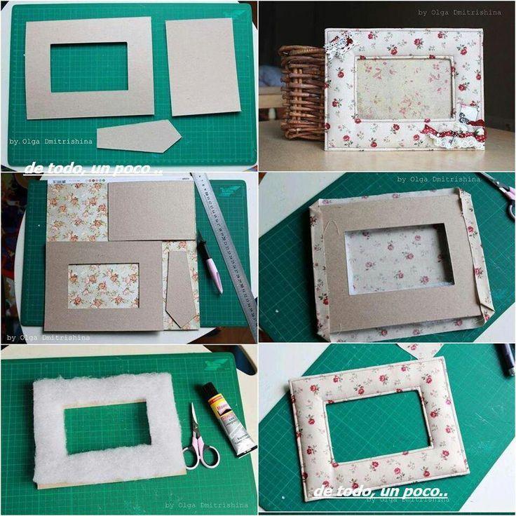 Рамка для фотографий своими руками из картона