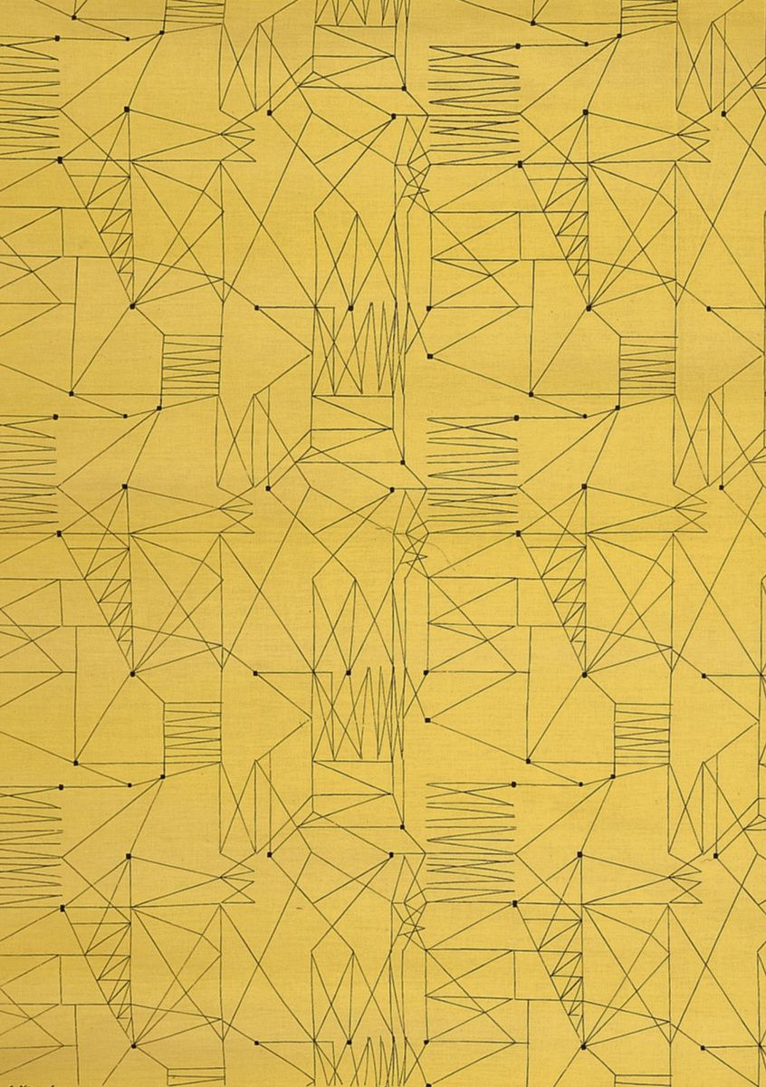"""""""Graphica"""" Lucienne Day 1954 - V patterns"""