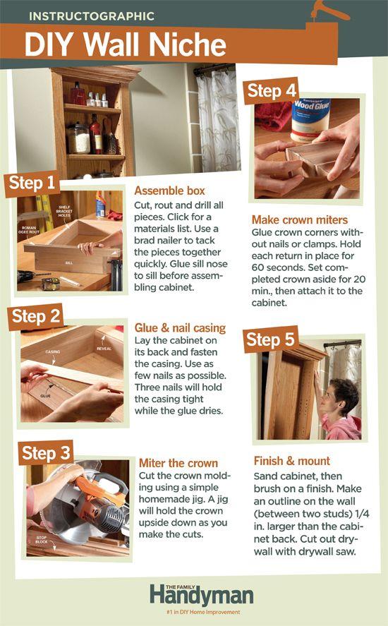 Build A Wall Niche Wall Niche Diy Home Improvement Build A Wall