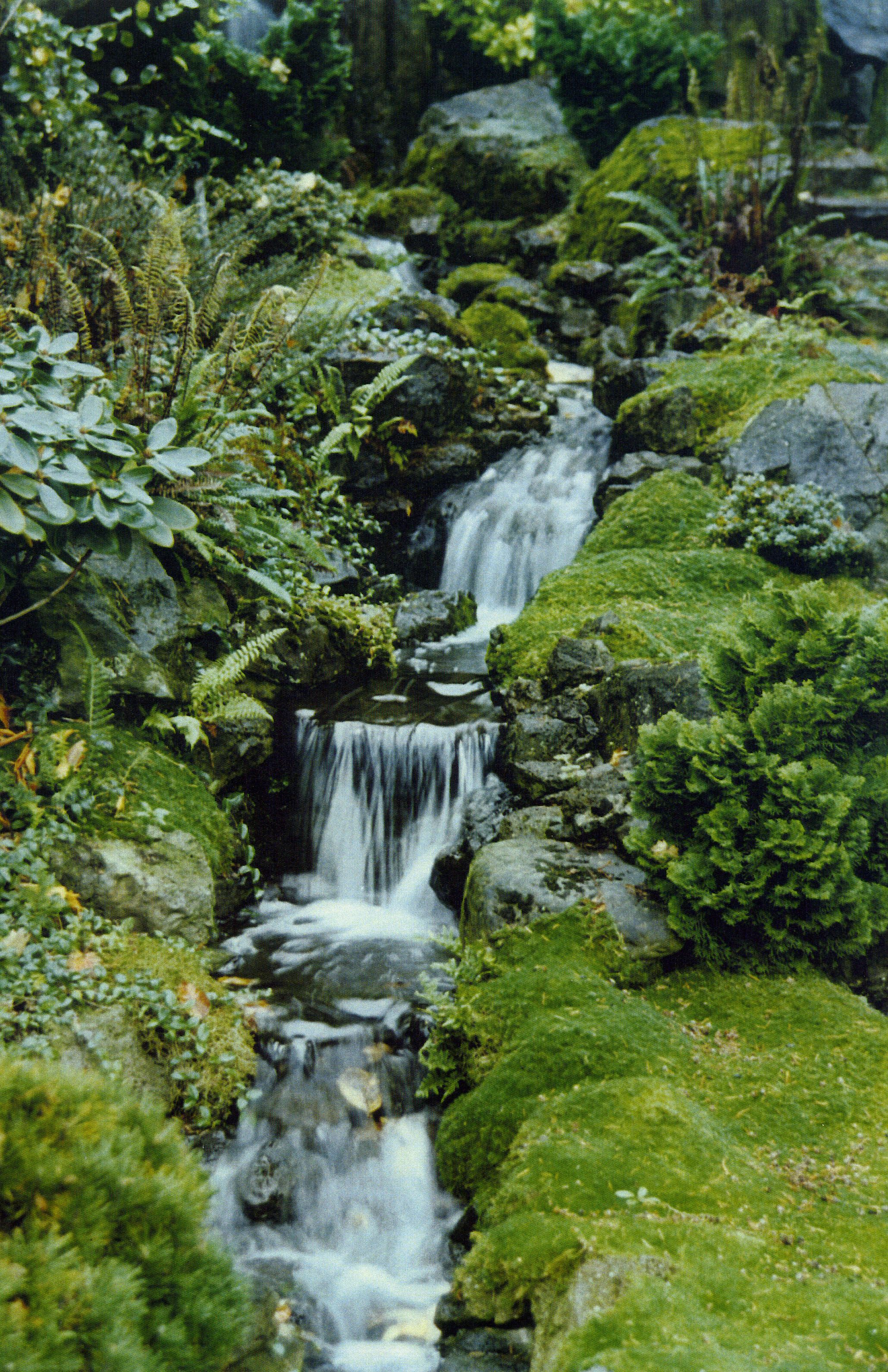 peaceful ideas waterfall showers. Garden ideas Water features are some of the most peace inducing ingredients in