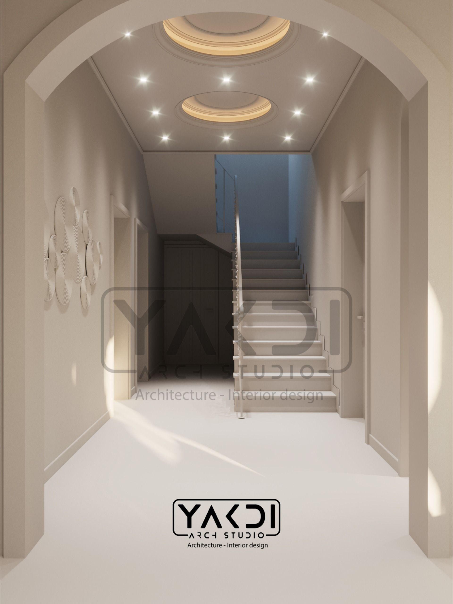Corridor Stairs درج In 2020 Interior Architecture Design Interior Architecture Studios Architecture