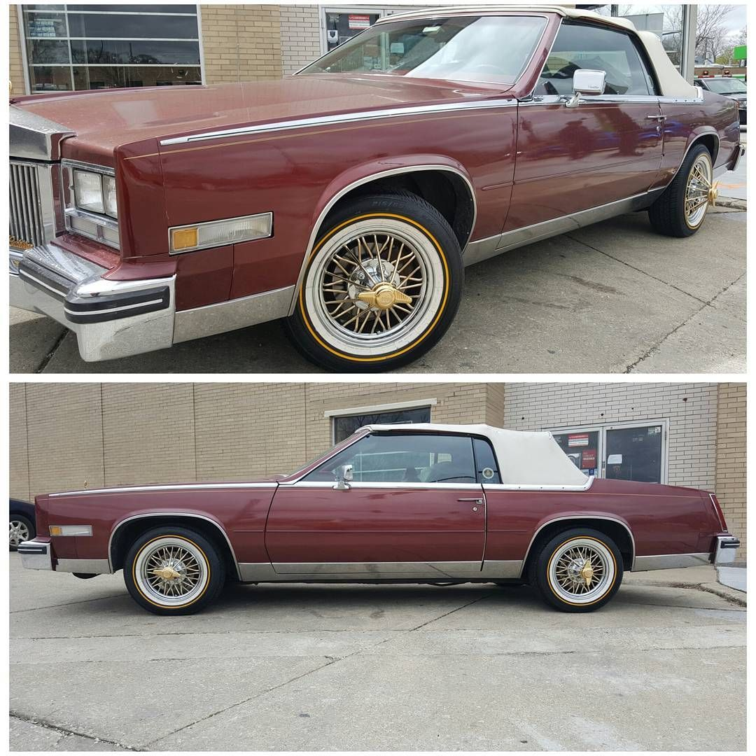 Pin on 19791985 Cadillac Eldorado Convertible ️