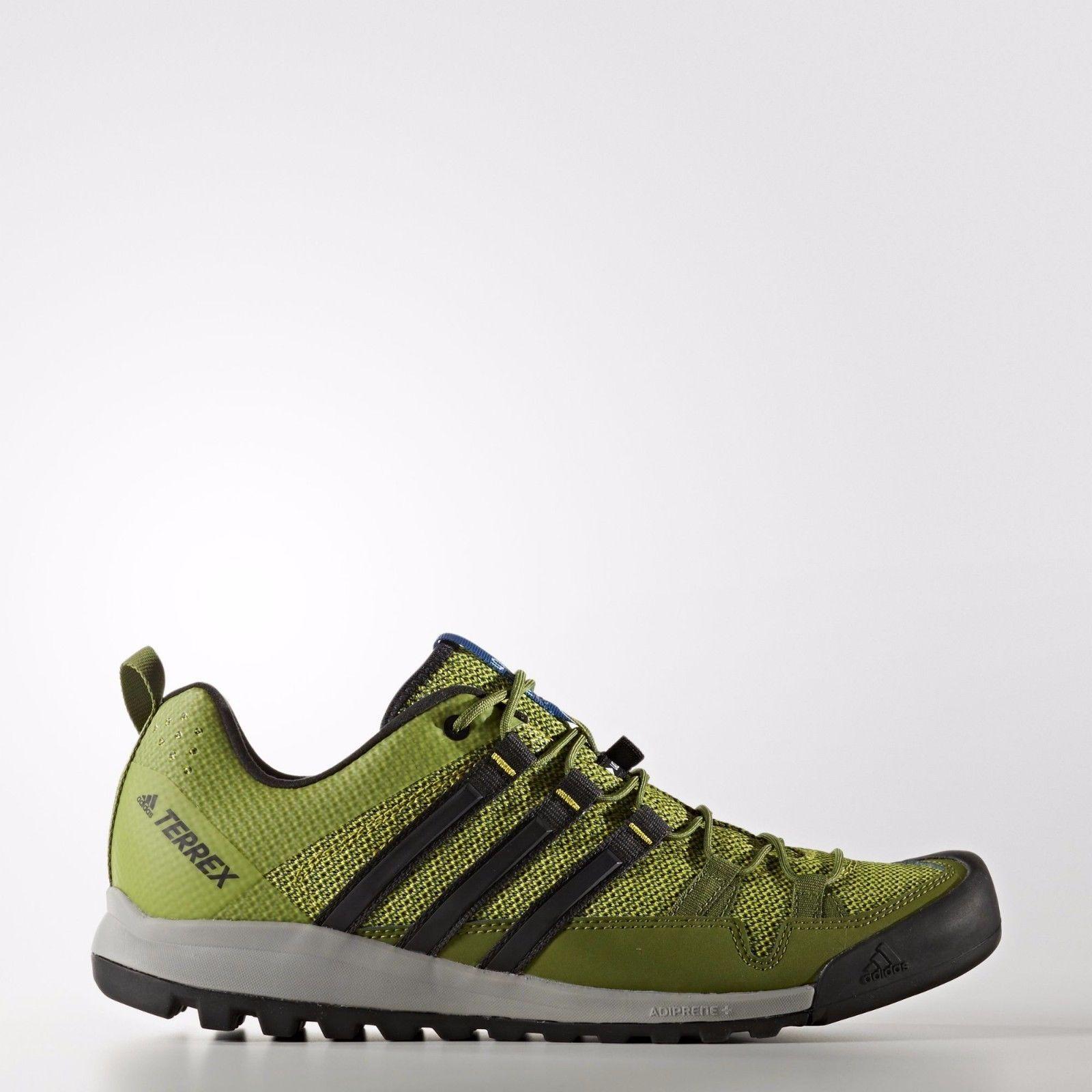 Adidas BB5563 Men's Outdoor Terrex Solo Shoes, Unity Lime