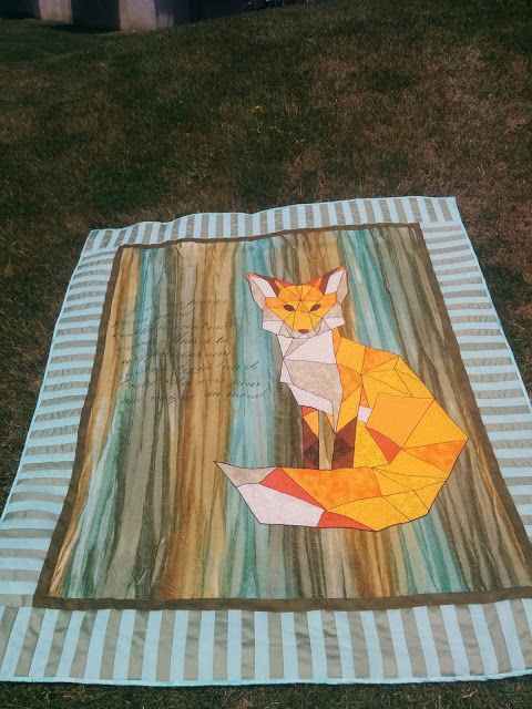 Finding myself as an artist: BQF - Small Quilt - The little prince