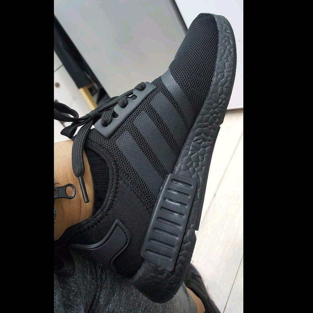 all black nmd