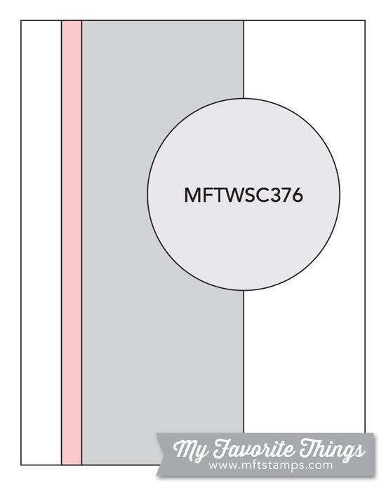 MFT Card Challenges: Wednesday Sketch Challenge - Sketch 376 #mftstamps #cardsketches