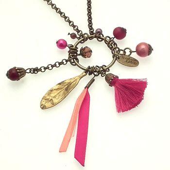 Collier Gazelle , exemple de réalisation de bijou