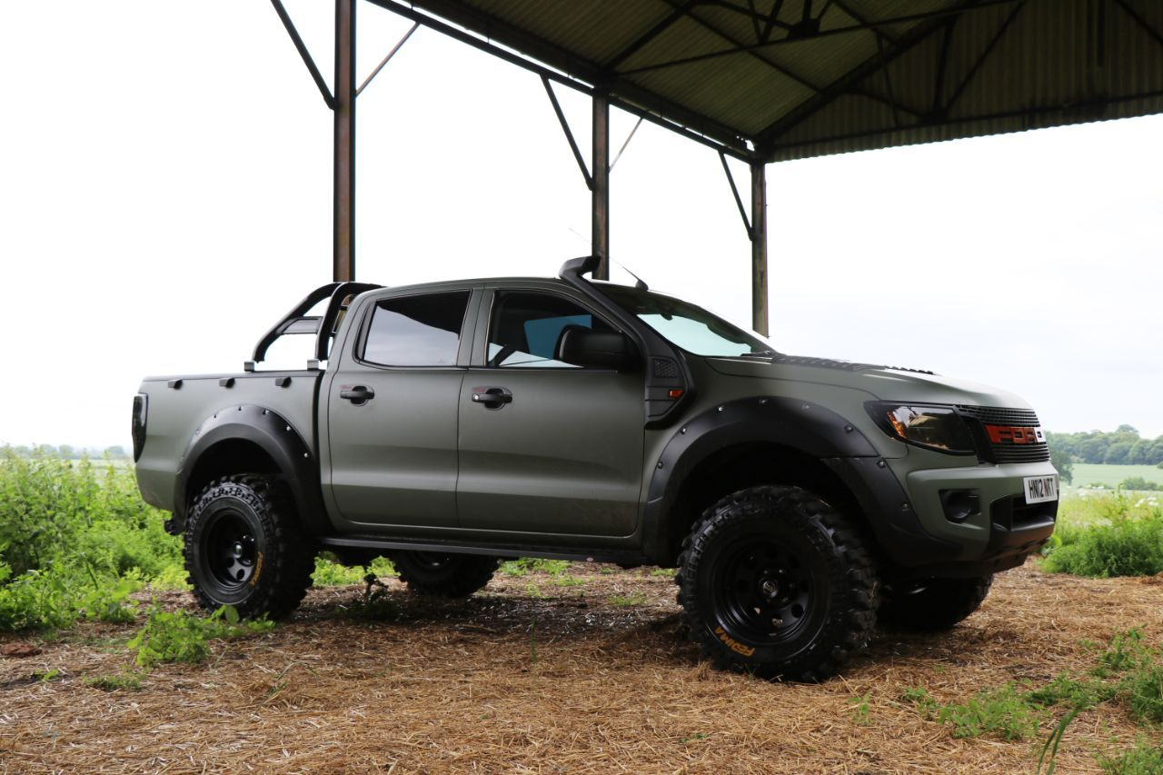 Ford Ranger 2 2 Pick Up Double Cab Camo Seeker Raptor Edition 5 In Build Order Now Pick Up Diesel White Mobil