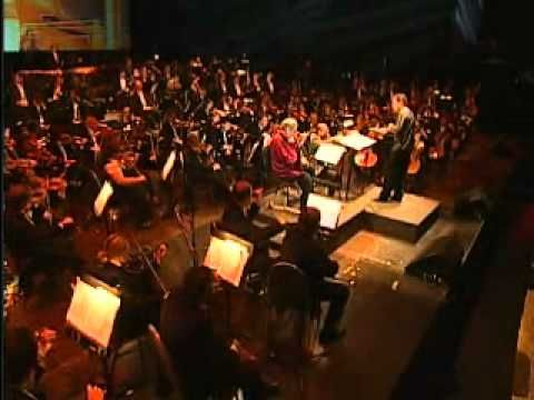 Schindler's List Theme by  Itzhak Perlman and The City of Praga Philharmonic Orchestra at Santiago, Chile on 18th nov, 2010.