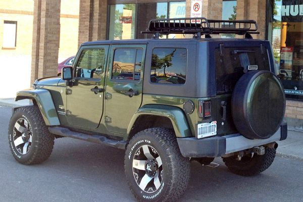 Rack Attack Vaughan Ontario Location Jeep Jk Jeep Cool Jeeps