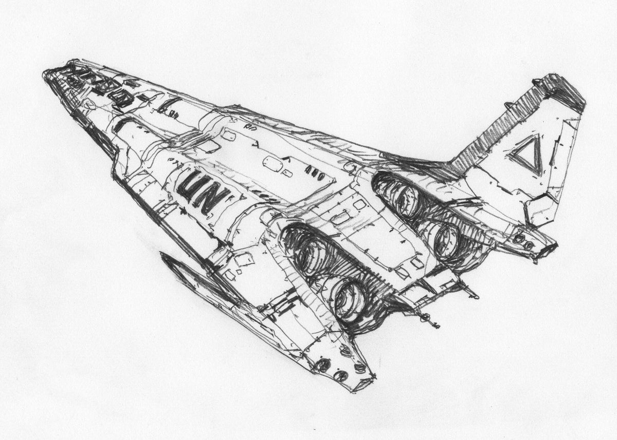 Spaceship Concept, Spaceship