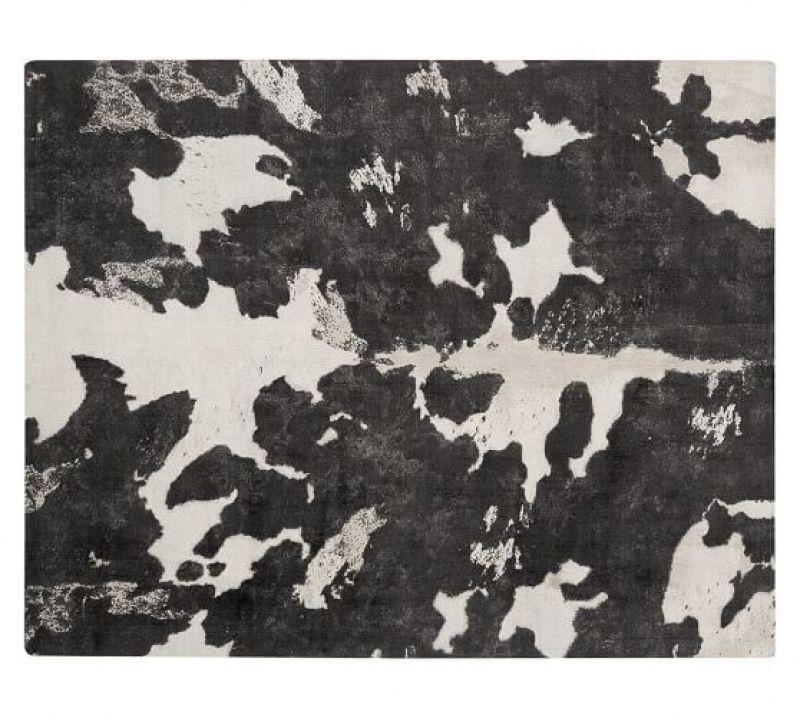 Cow Print Rug Amazing cow print rug Cow Printed Rug Pottery Barn