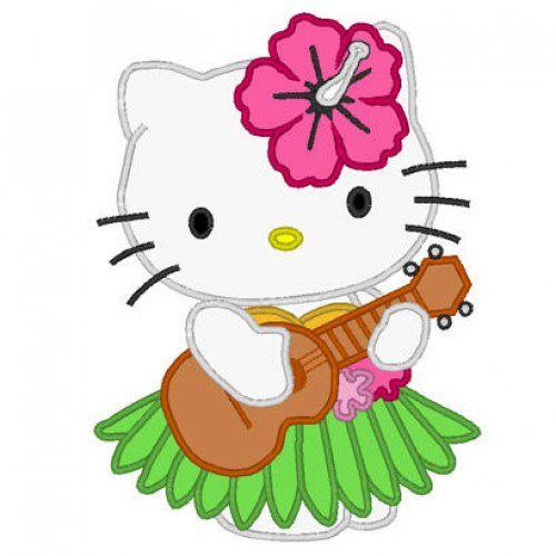 Hello Kitty Birthday Haiian Umgeas Hello Kitty Hula Hawaii Beach