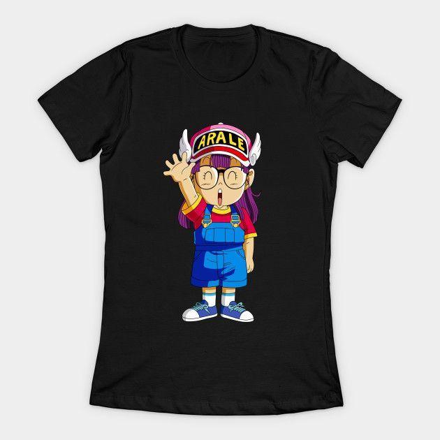 Arale Dragon Ball Womens T-Shirt