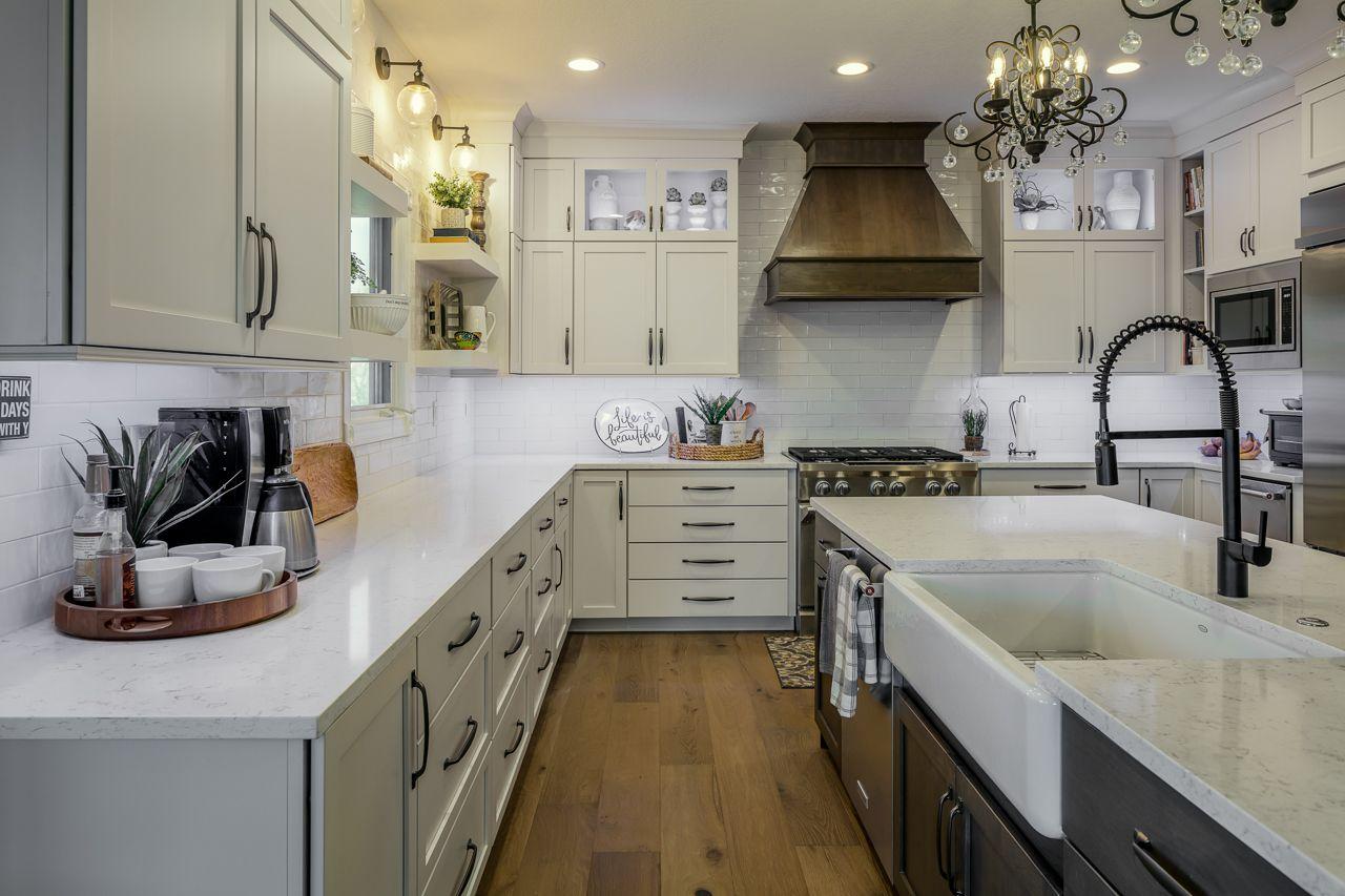 Mismatched Cabinets Kitchen Remodel Cabinet Cabinet Design