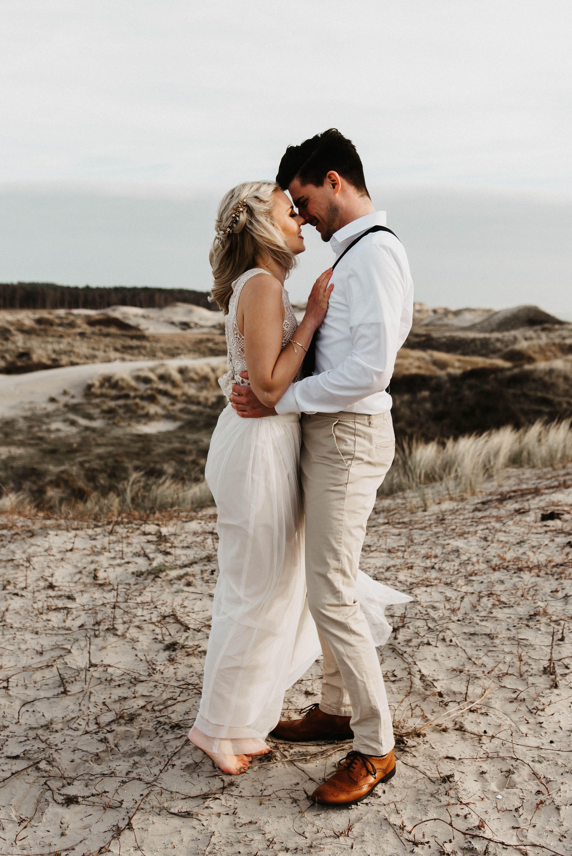 Brautpaarshooting Niederlande Holland Niederlande Am Meer