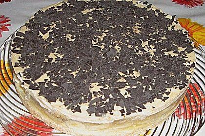 Bananen Kuchen Mit Baileys Und Weisser Schokolade Eierlikor