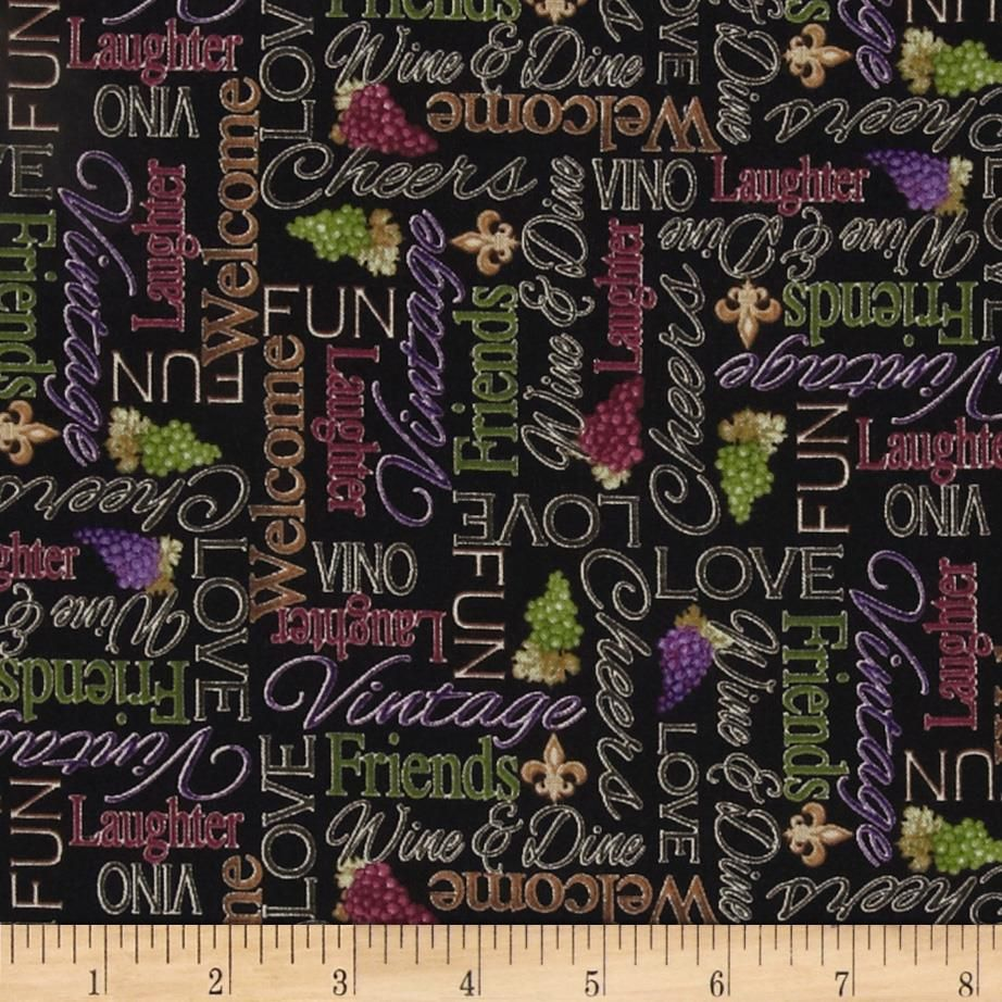 Vineyard Haven Word Black from Designed by