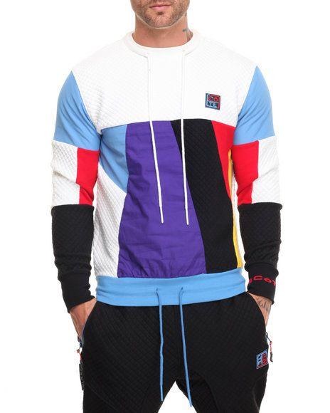 e8141f4fdfda Find Color Block Sweatshirt Men s Sweatshirts   Sweaters from Cote De Nuits…