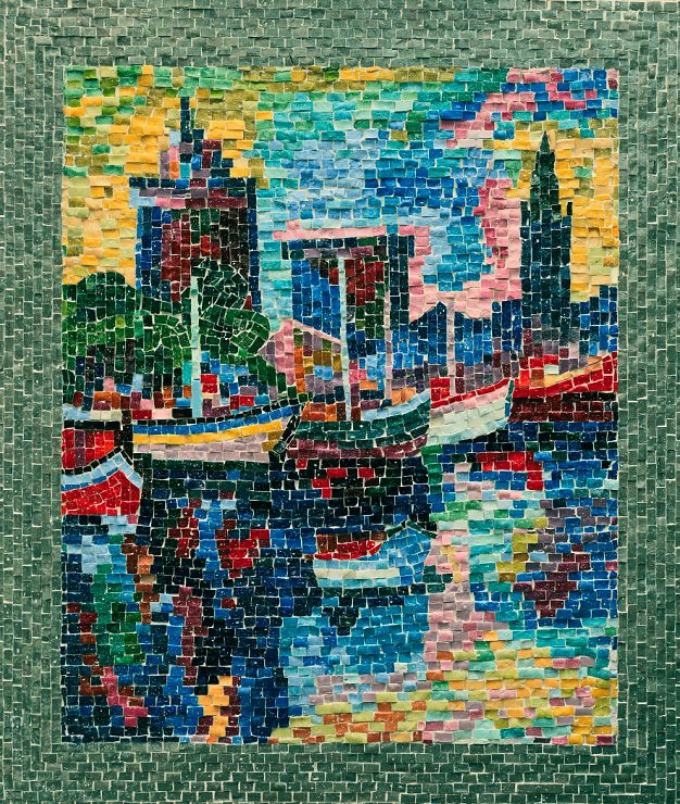 serge mendjisky | Before 2000 mosaics - by Serge Mendjisky
