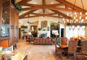 Houzz Timber Frame Great Room Fireplaces - Bing images