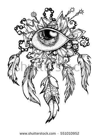 handmade, Native American Indian talisman dreamcatcher ...