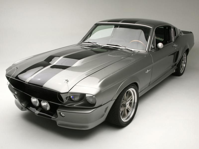 Shelby Mustang Gt500 Eleanor 1967 Retro Style Kids Car T-shirt Clothes, Shoes & Accessories Kids' Clothes, Shoes & Accs.