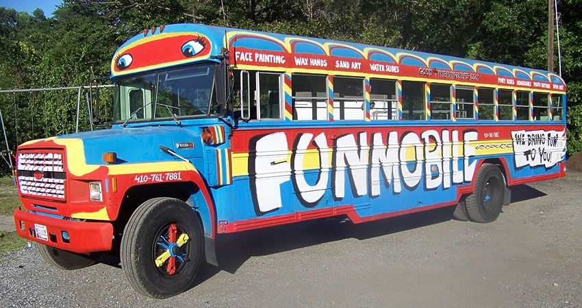Fun Bus Funmobile Severn, MD DC, MD, VA (DMV) Stress
