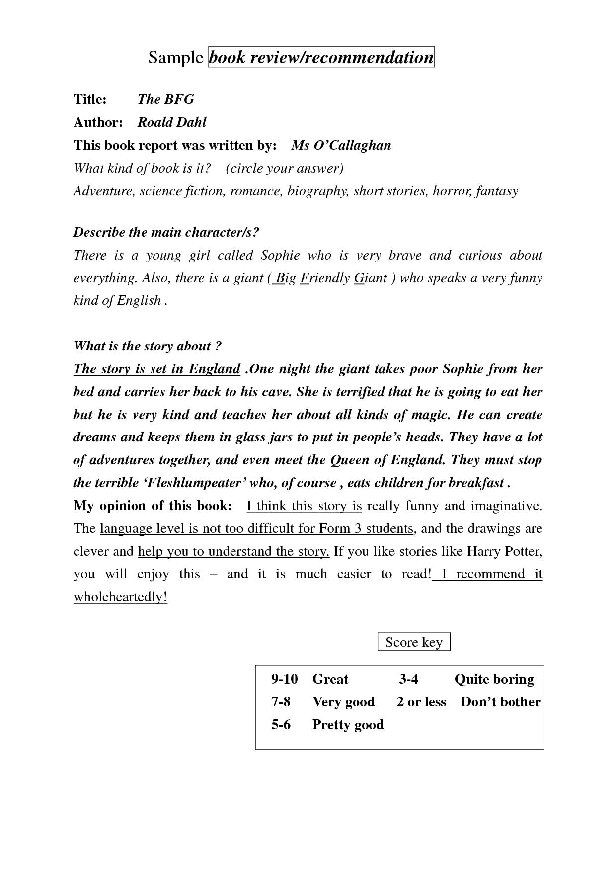 bfg book summary book report bfg pinterest book summaries