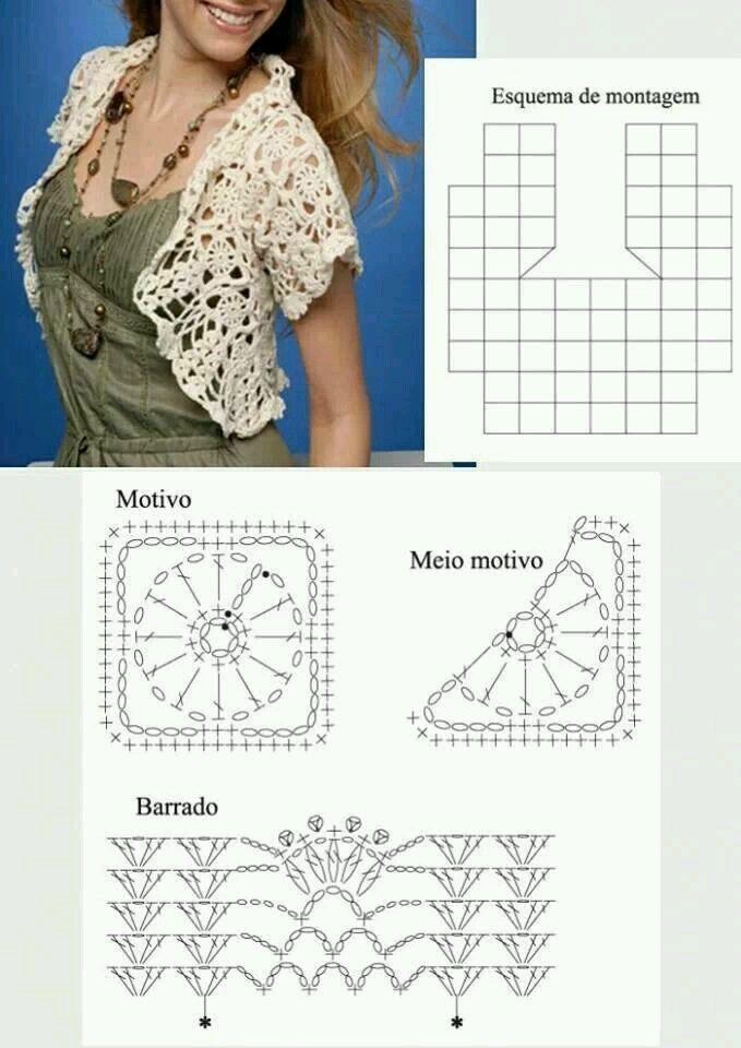 Pin by Bertha Mendoza on How to do | Pinterest | Crochet, Crochet ...