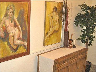 #Nude artwork. Flea market finds Nov 16-17