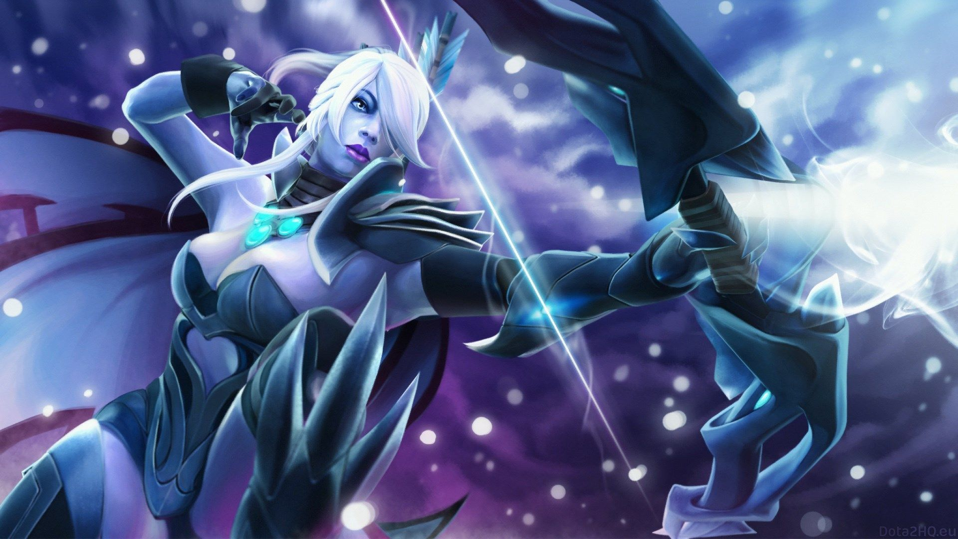 1920x1080 Drow Ranger Dota 2 Wallpaper Hd Dota2 Pinterest
