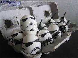 Resultado de imagem para ovo de pascoa star wars