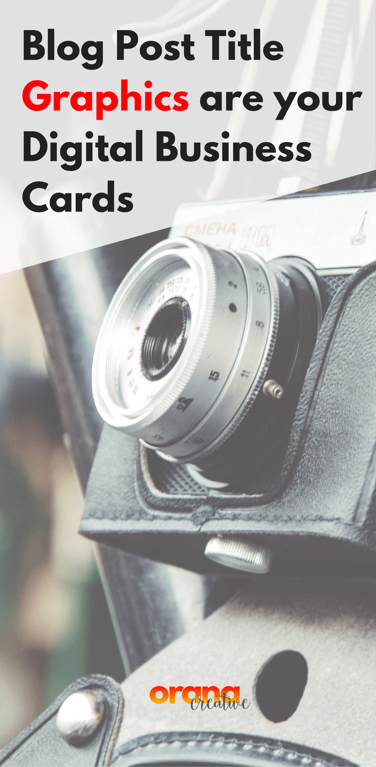 Blog Post Titles are your Digital Business Cards - Learn how to make ...