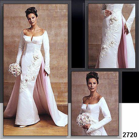 Vogue Wedding Dress Pattern 2720