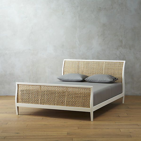 Cecilia Queen Bed Bed Frame And Headboard Modern Bedroom