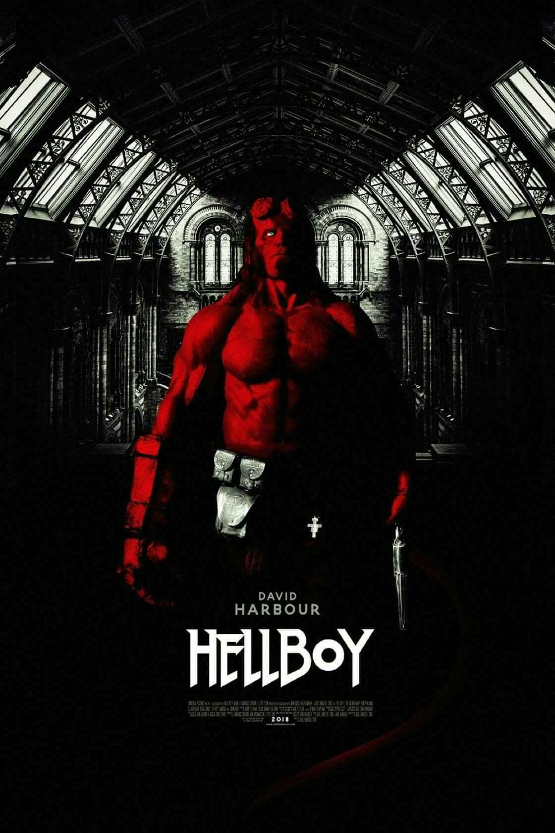 Hasil gambar untuk poster Hellboy 2019