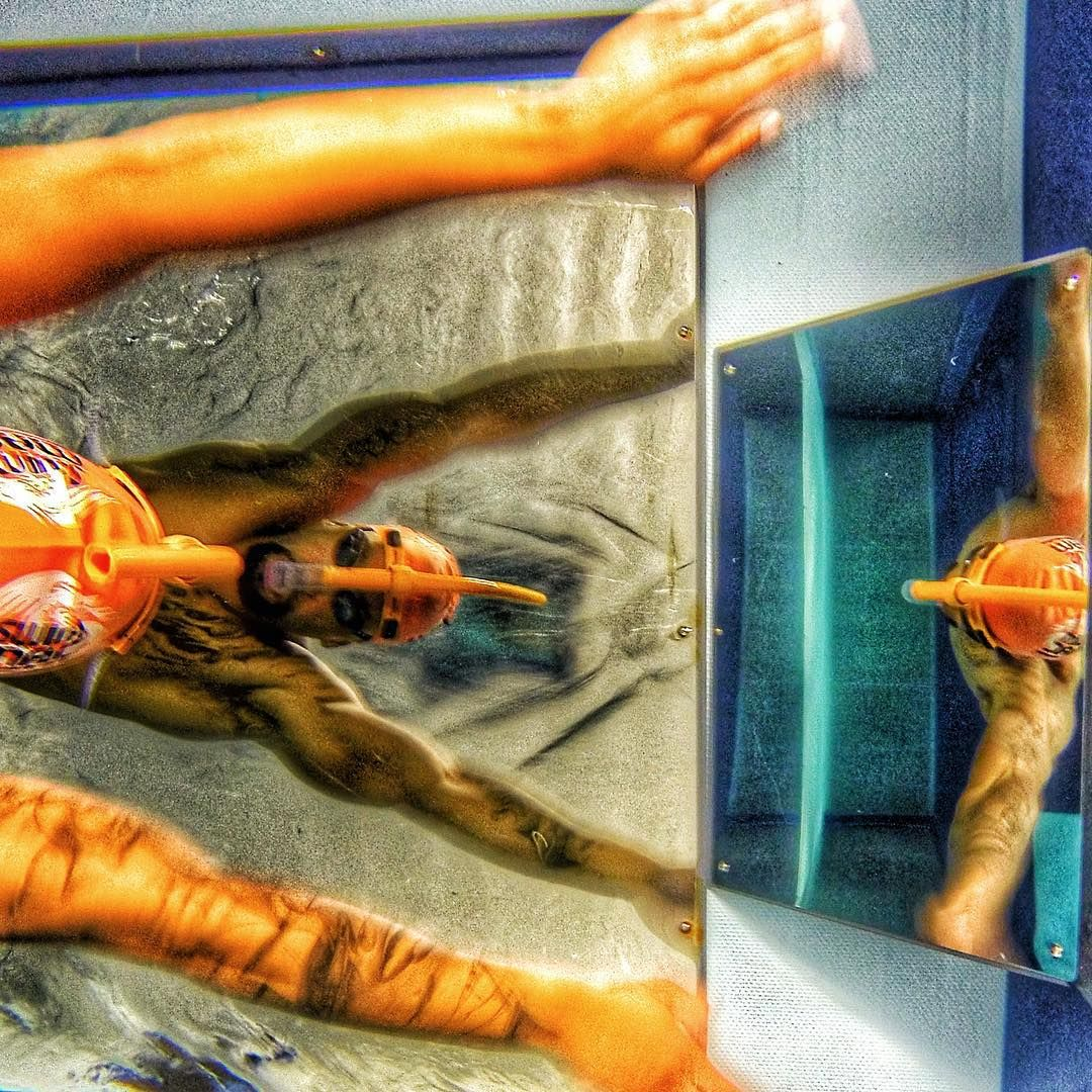 2x Olympian Roy Burch uses the Elite Endless Pool® at