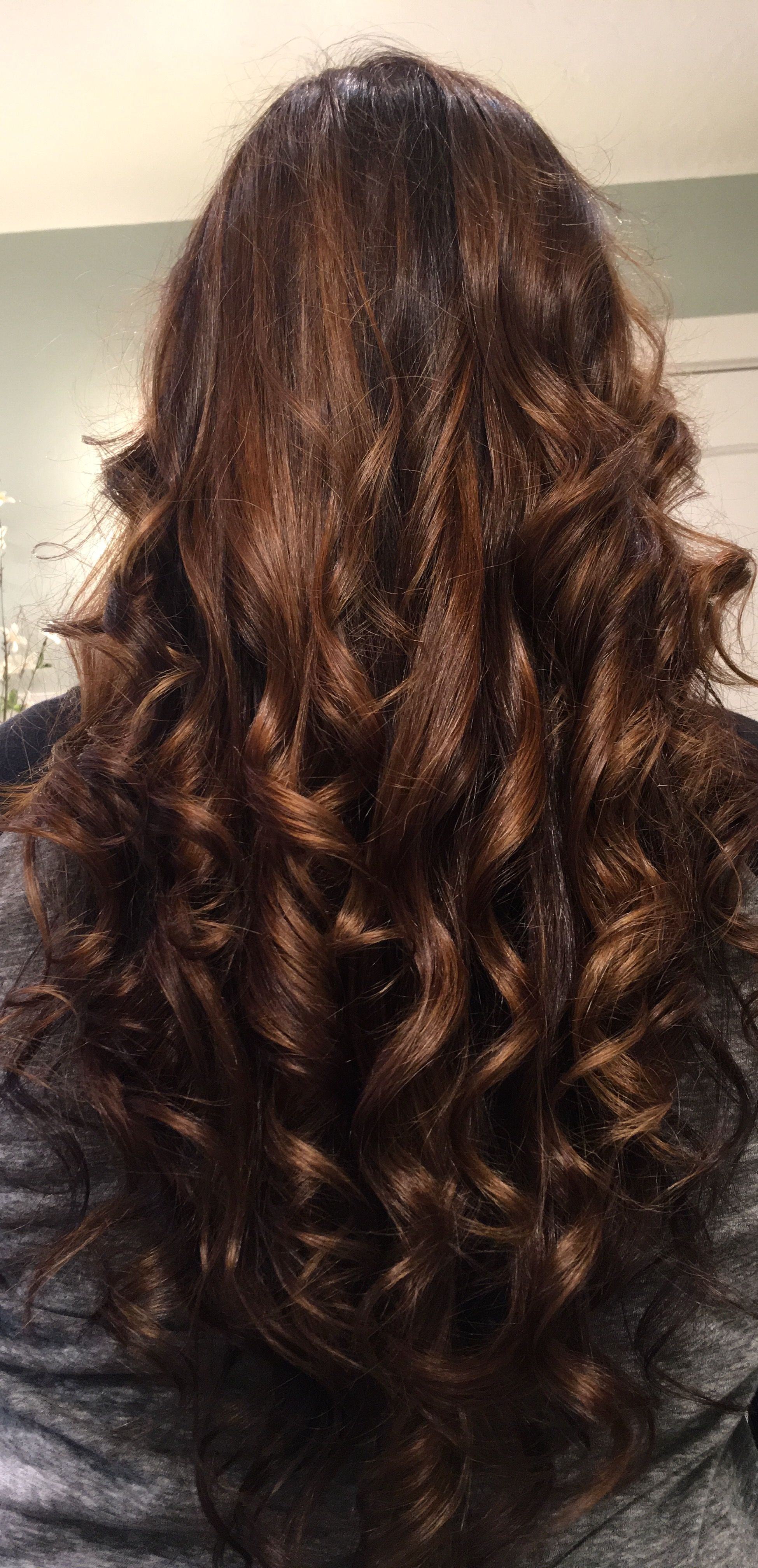 Chocolate Reverse Balayage Sombre 3ch 4n 5ch One N Only Argon Oil Hair Color Argon Oil Hair Hair Styles Reverse Balayage