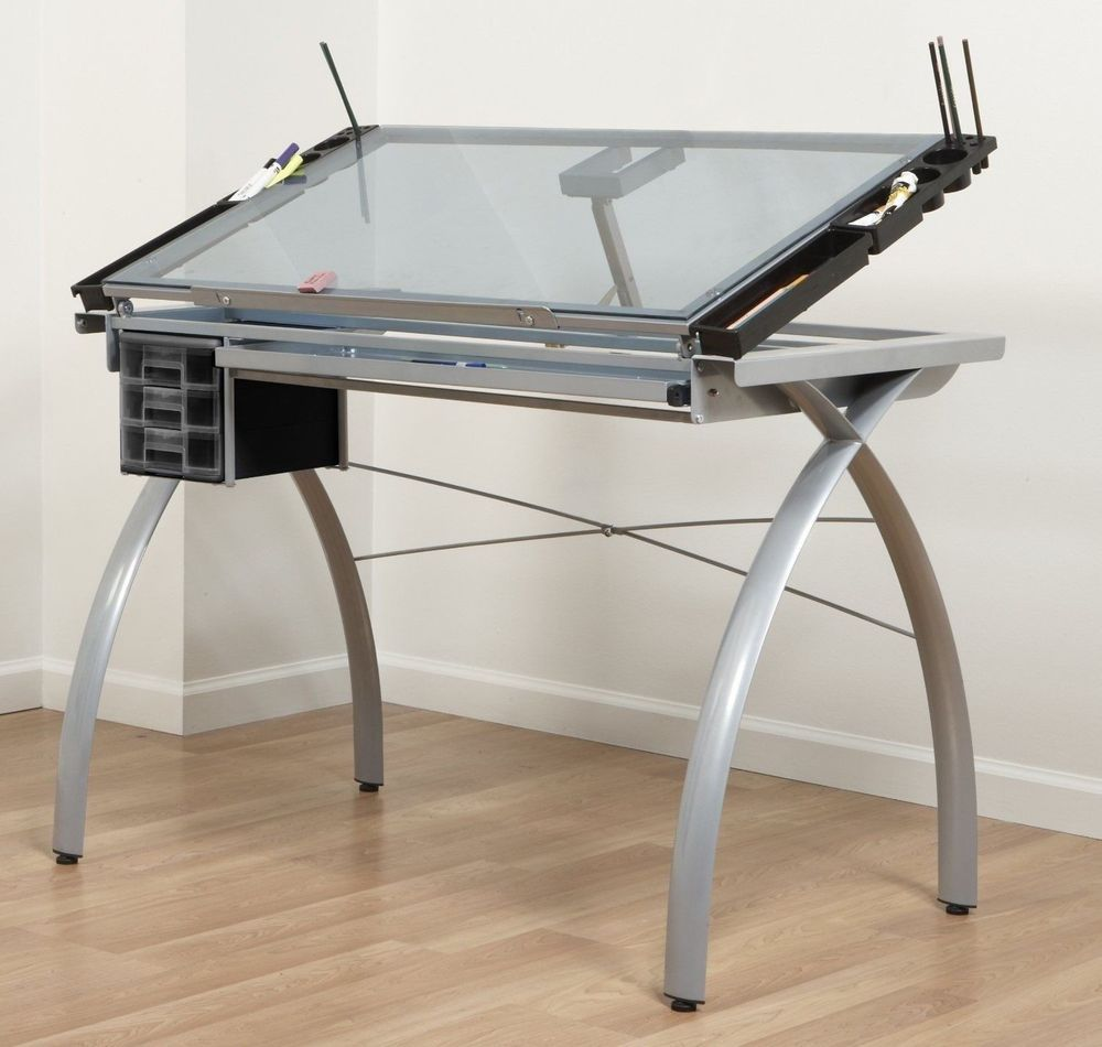Mural Of Drafting Tables From Ikea That Ease You In Accomplishing