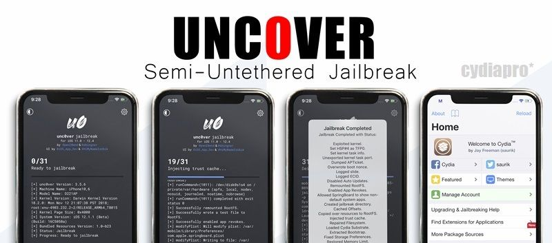 Is uncover jailbreak supports for download cydia ios 124