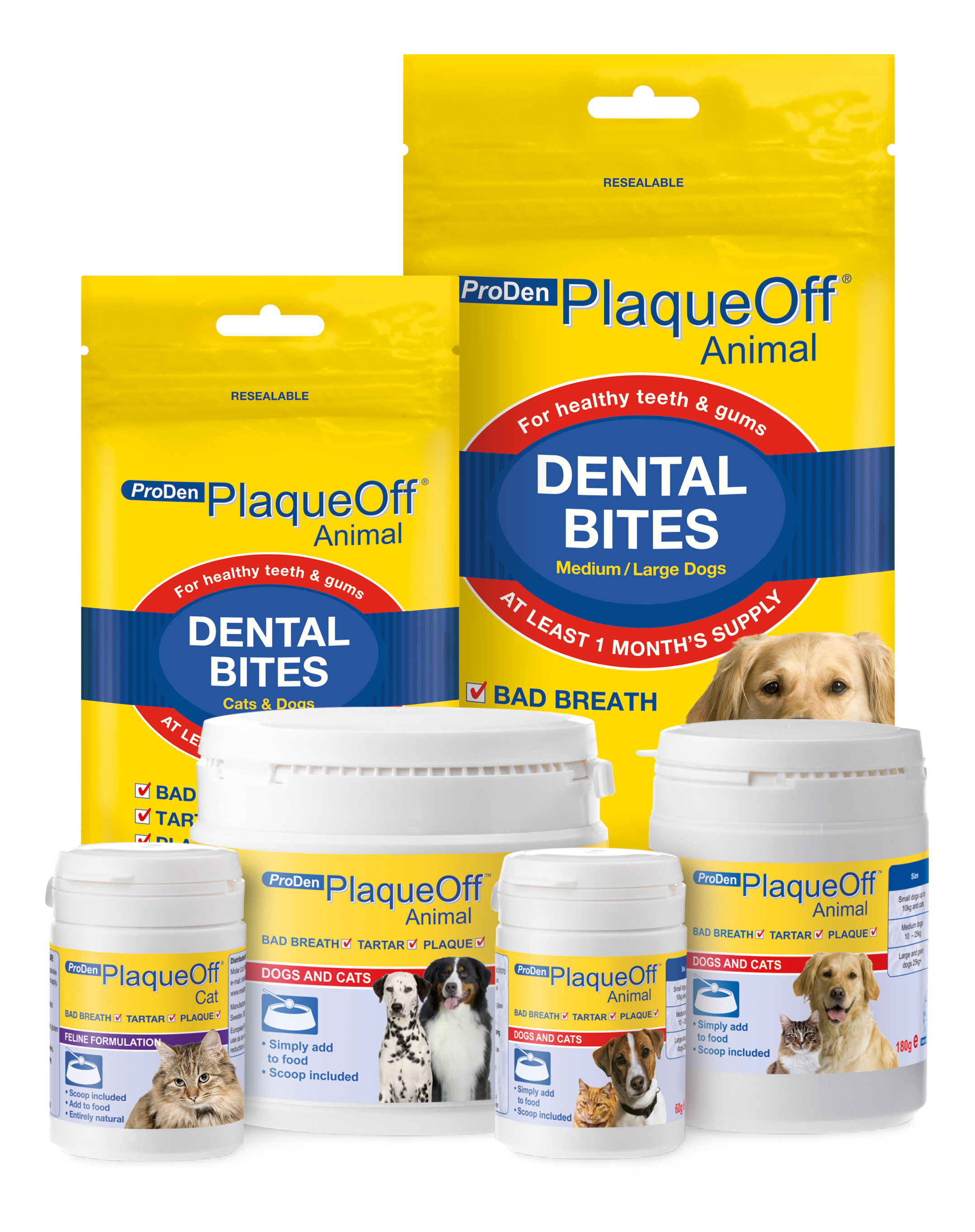 PlaqueOff Animal, a range of natural products to help with