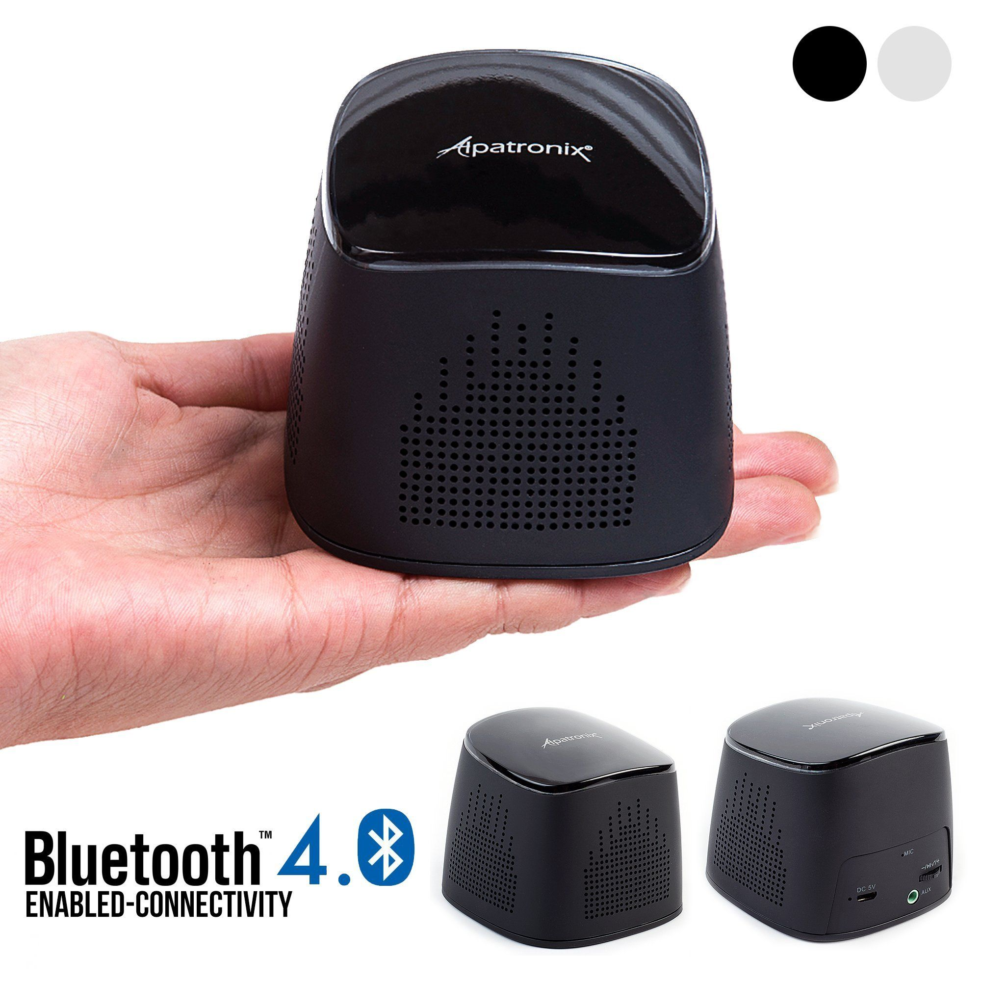 hight resolution of bluetooth speaker alpatronix ax310 ultra portable mini bluetooth wireless rechargeable speaker with mic