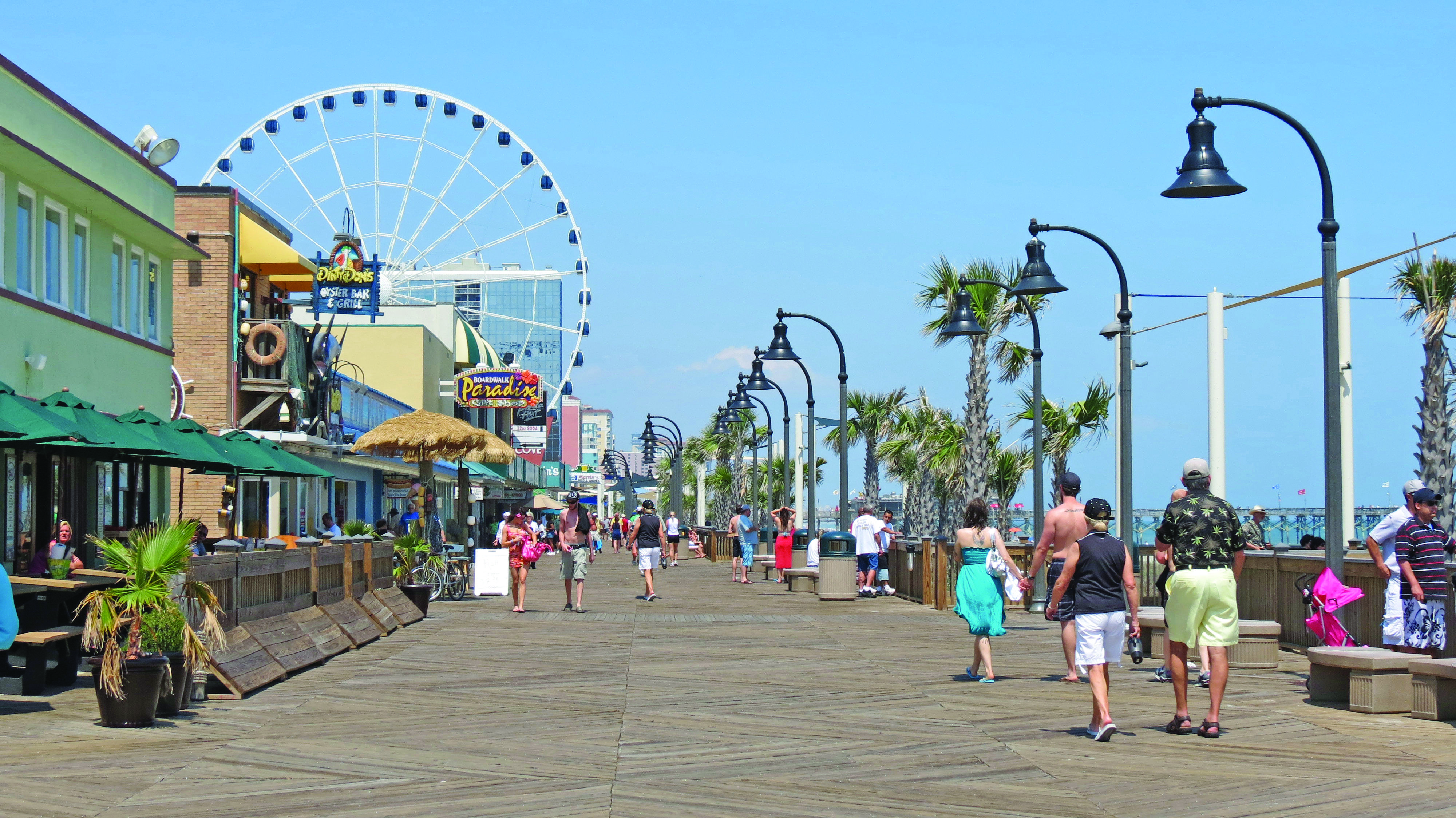 The Boardwalk Myrtle Beach Sc Amazing Things My Eyes Have Seen